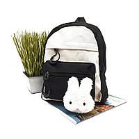 Дитячий рюкзак текстиль чорний Арт.FM-3047 black Бренд (Китай)