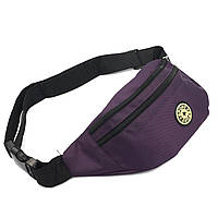 Фіолетова сумка на пояс поліестер Арт.FM-3091 Бренд (Китай)