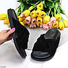 Замшевые черные шлепанцы женские шлепки натуральная замша в ассортименте, фото 10