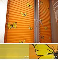 Жалюзи плиссе, шторы плиссе Лето цвета в ассортименте