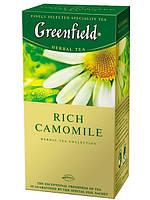 Чай в пакетиках травяной Greenfield Rich Camomile 25 п.
