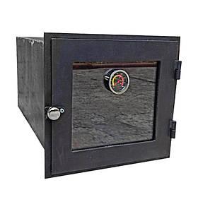 Духовка для печі зі склом і термометром 420х420 мм 102805