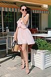 Женское летнее платье с имитацией запаха на бретелях (Норма), фото 9