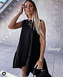 Летнее женское нежное платье с воланом в расцветках (Норма), фото 3