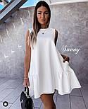 Летнее женское нежное платье с воланом в расцветках (Норма), фото 6
