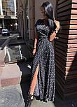 Модне жіноче літнє плаття на запах в горох (Норма), фото 10