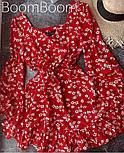 Ніжне жіноче плаття в квітковий принт з софта (Норма), фото 6