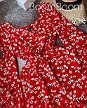 Нежное женское платье в цветочный принт из софта (Норма), фото 10