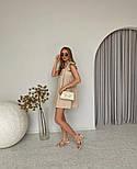 Женское нежное льняное платье свободного кроя ''Крылышки'' (Норма), фото 6