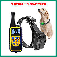 Электронный ошейник RT880 для дрессировки собак (1 пульт +1 приемник) без БП