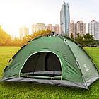 ОПТ Палатка кемпинговая автоматическая 4-х местная 2×2м однослойная 1 вход без тента, фото 5