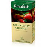 Чай в пакетиках черный Greenfield Strawberry Gourmet  25 п.