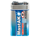 "Батарейка Mastak 9V 6F22, ""Крона"""