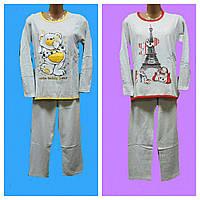 Пижама байковая Парижанка