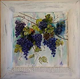 """Картина-миниатюра """"Виноградные гроздья"""""""