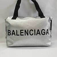 Стильная женская сумка спортивная дорожная  эко-кожа