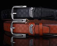 Модный мужской кожаный ремень. Модель 04149, фото 2