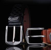 Модный мужской кожаный ремень. Модель 04149, фото 3