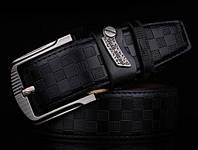 Модный мужской кожаный ремень. Модель 04149, фото 4