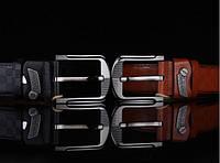Модный мужской кожаный ремень. Модель 04149, фото 5