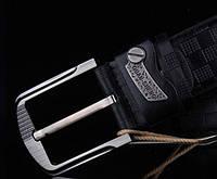 Модный мужской кожаный ремень. Модель 04149, фото 7