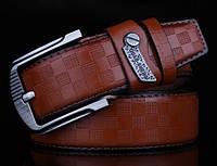 Модный мужской кожаный ремень. Модель 04149, фото 8