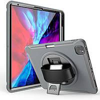 "Чехол Rotating Belt Case для Apple iPad Pro 12.9"" 2018 / 2020 Grey"