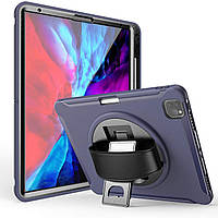 "Чехол Rotating Belt Case для Apple iPad Pro 12.9"" 2018 / 2020 Dark Blue"