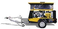 Компрессор передвижной KAESER с дизельным двигателем серии MOBILAIR M 36 – M 350