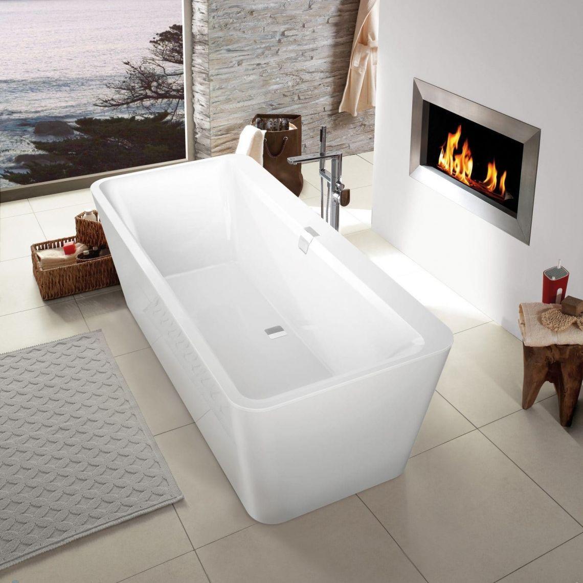 Ванна квариловая Villeroy & Boch Squaro Edge 12 Duo 180х80, білий (UBQ180SQE7PDV-01)