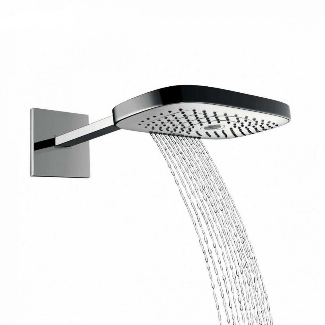 Верхній душ Hansgrohe Raindance Select E 300 3jet, хром (26468000)