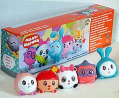 Детский игровой набор фигурок, игрушки для купания  Малышарики PC2313B