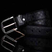 Модный мужской кожаный ремень. Модель 04149