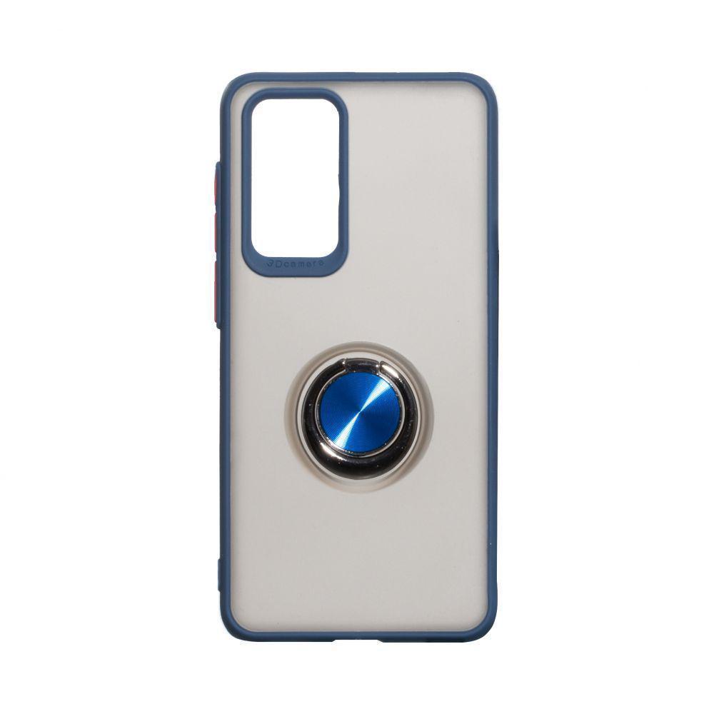 Чехол Totu с магнитным кольцом для Huawei P40 Синий