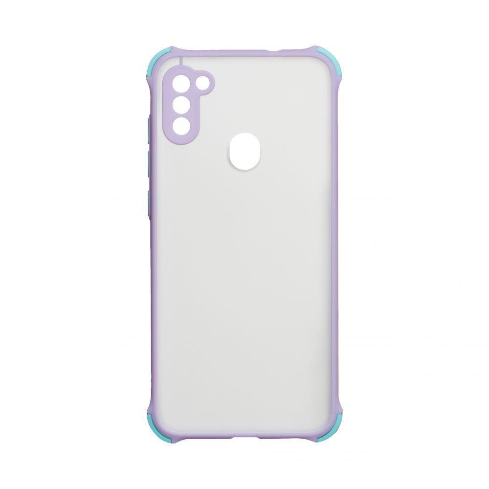 Чохол Totu Armor Frame для Samsung Galaxy A11 SM-A115 Бузковий