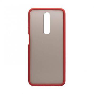 Чехол Totu Gingle Series для Xiaomi Redmi K30 Красный