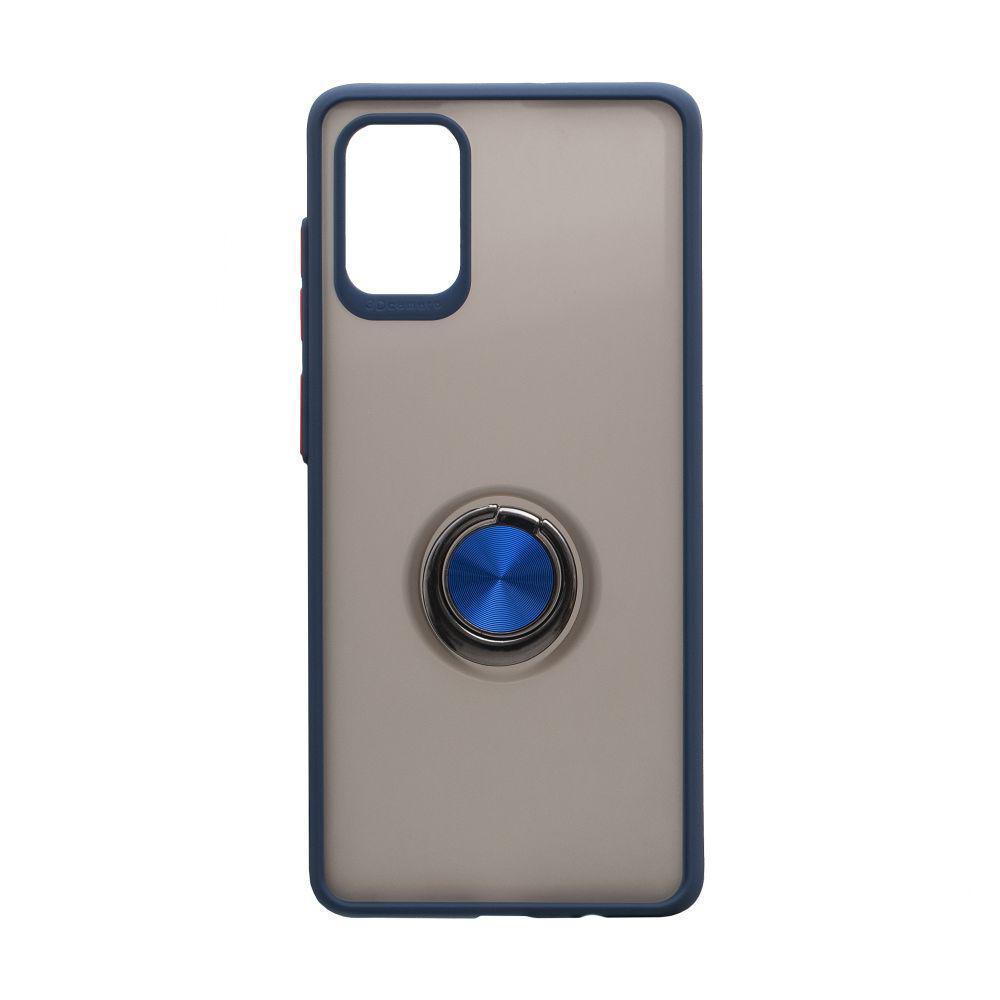 Чохол Totu з магнітним кільцем для Samsung Galaxy A71 SM-A715 Синій