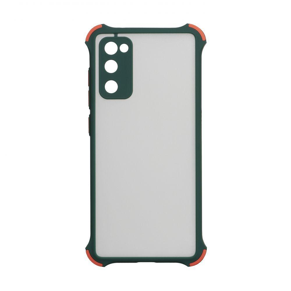 Чехол Totu Armor Frame для Samsung Galaxy S20 FE SM-G780 Зелёный