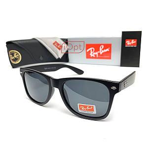 Солнцезащитные Очки R-B Wayfarer POLAROID Черные Матовые