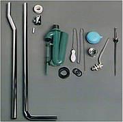 Механизм слива с трубой Simas Arcadae для высокого бачка AR 802, хром (R01 Cromo)