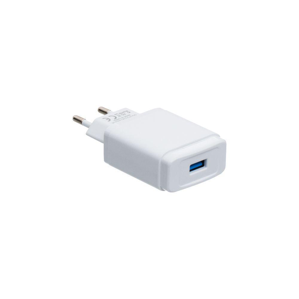 Сетевая зарядка Inkax CD-53 3.1A Quick Charge 3.0 + кабель Micro USB Белый