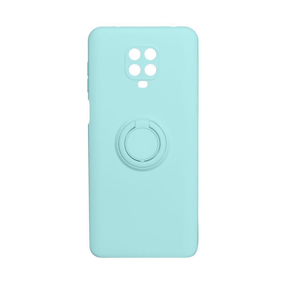 Чехол Totu Ring Color для Xiaomi Redmi Note 9 Pro Бирюзовый