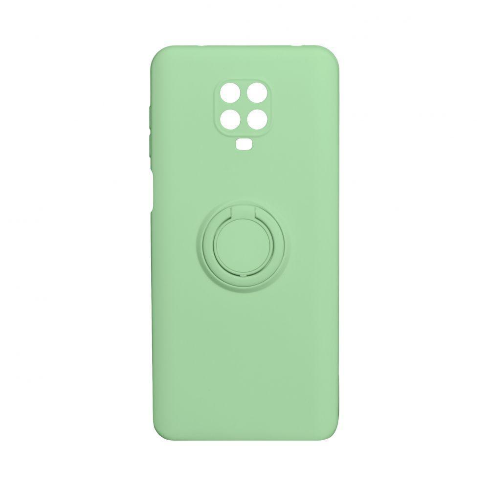 Чехол Totu Ring Color для Xiaomi Redmi Note 9 Pro Зелёный