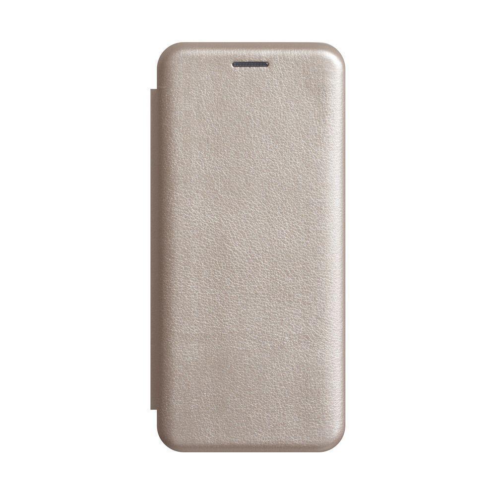 Чехол-книжка Totu Premium Edge для Xiaomi Redmi Note 7 Золотой