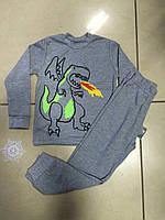 Пижама трикотажная для мальчика  ТМ Робинзон хлопковая размер 110, фото 1