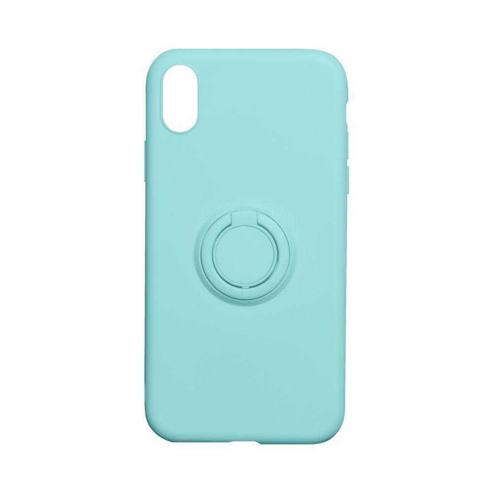 Чохол Totu Ring Color для Apple iPhone Xr Бірюзовий
