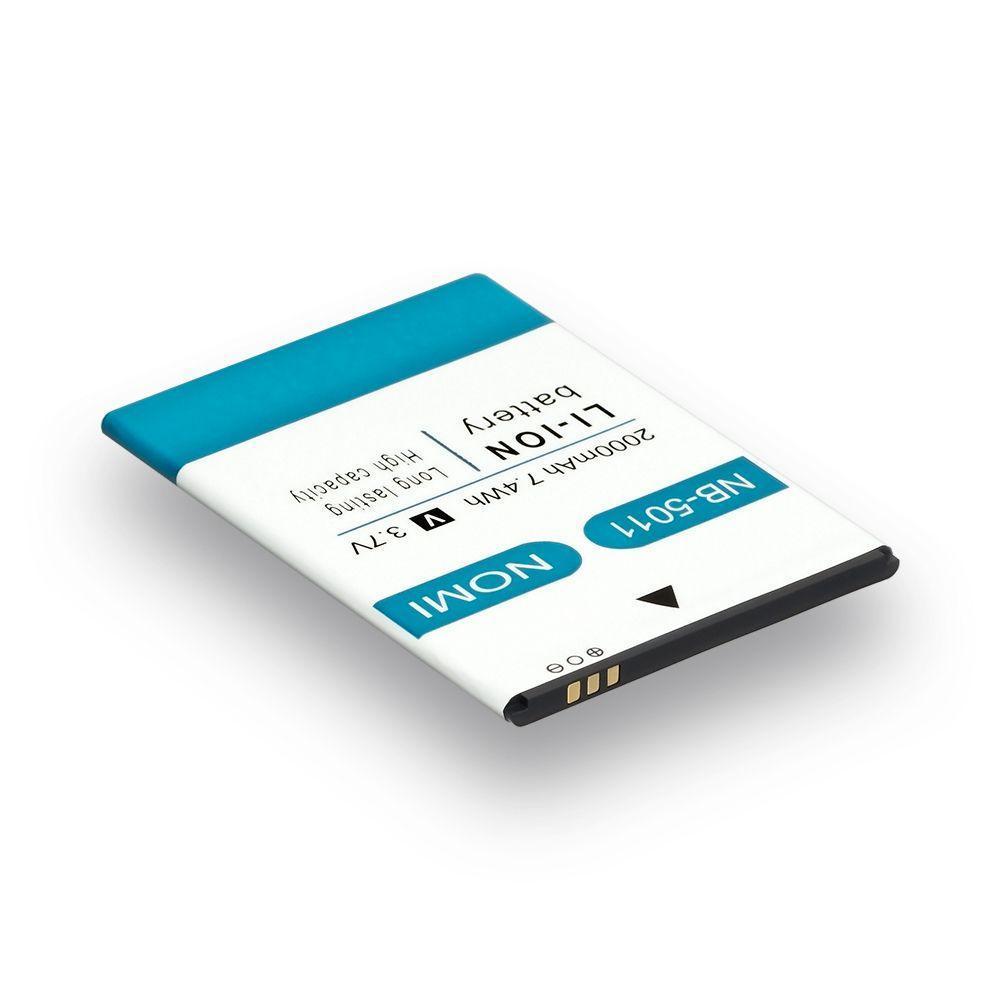 Аккумуляторная батарея Quality NB-5011 для Nomi i5011 Evo M1