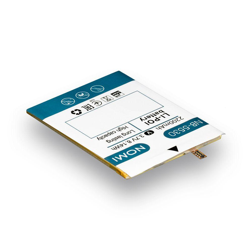 Аккумуляторная батарея Quality NB-5530 для Nomi i5530 Space X
