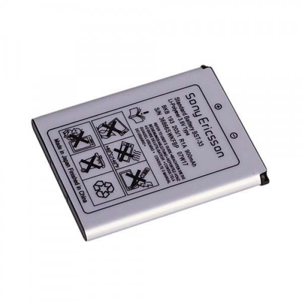 Акумуляторна батарея Quality BST-33 для Sony Ericsson K790