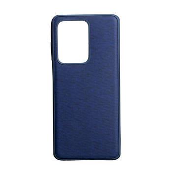 Чехол Totu Jeans для Samsung S20 Ultra SM-G988 Цвет Синий